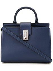Marc Jacobs Large 'West End' Top Handle Tote Blue