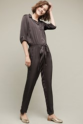Anthropologie Montreal Jumpsuit Carbon