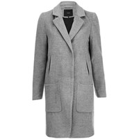 Y.A.S. Women's Monday Coat Light Grey Melange