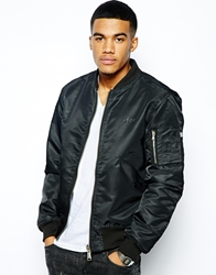 Boy London Reversible Ma1 Bomber Jacket Black