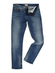 Tommy Hilfiger Men's Slim Scanton Dynamic Stretch Jeans Blue