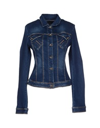 Fornarina Denim Outerwear Blue