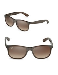 Ray Ban Wayfarer Square Sunglasses Grey