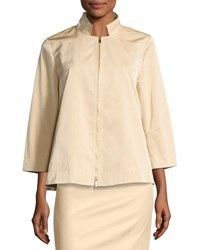Lafayette 148 New York Lucette 3 4 Sleeve Jacket Light Yellow