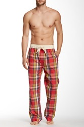 Majestic Lounge Dawson Lounge Pant Red