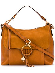 See By Chloe Joan Bag Women Cotton Calf Leather One Size Brown