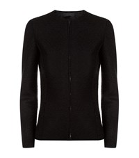 The Row Stanna Wool Zip Jacket Female Black