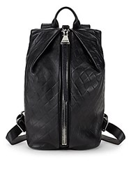 Aimee Kestenberg Tamitha Leather Backpack Black Diamond