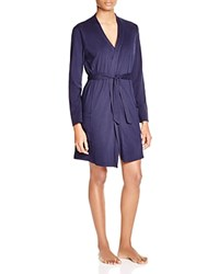 Naked Belted Stretch Jersey Robe Peacoat
