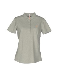 Sun 68 Polo Shirts Grey