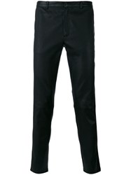 The Kooples Cropped Trousers Black
