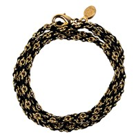 Mhart Braided Chain Bracelet Gold