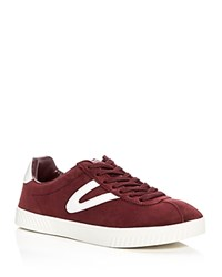 Tretorn Camden Lace Up Sneakers Dark Red
