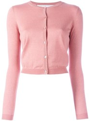 Red Valentino Button Up Cardigan Pink Purple