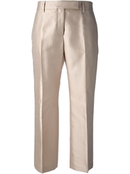 True Royal Relaxed Fit Capri Trousers Nude And Neutrals