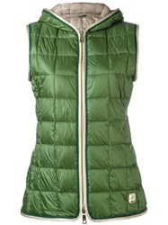 Fay Padded Vest Green