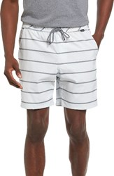 Hurley Men's Dover Dri Fit Volley Shorts White