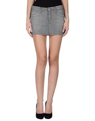 Richmond Denim Denim Denim Skirts Women Grey