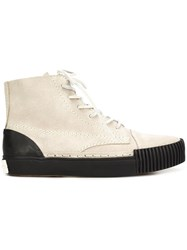 Alexander Wang 'Perry' Hi Top Sneakers Grey