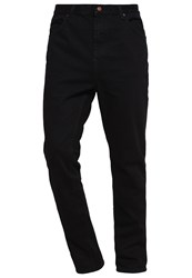 Your Turn Jeans Tapered Fit Black Rinse Wash Black Denim