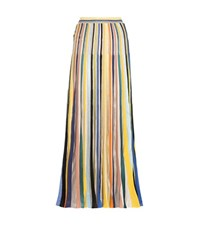 Missoni Crochet Knit Maxi Skirt Multicoloured