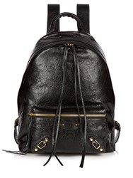 Balenciaga Classic Arena Leather Backpack Black