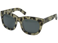 3.1 Phillip Lim Pl159c1sun Cheetah Fog Green Fashion Sunglasses Gray