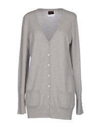 Blanca Luz Knitwear Cardigans Women Light Grey