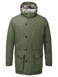 Craghoppers Men's Finch Waterproof Insulating Jacket Green