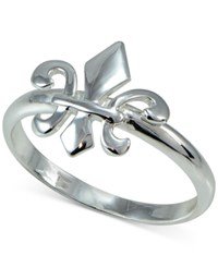 Giani Bernini Fleur De Lis Ring In Sterling Silver Only At Macy's