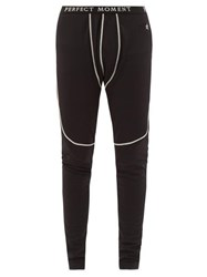Perfect Moment Thermal Technical Stretch Jersey Leggings Black