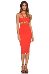 Nookie Claudia Bodycon Dress Orange