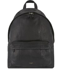 Givenchy Python Backpack Black