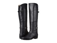 Frye Dorado Lug Riding Black Soft Vintage Tempanado Women's Pull On Boots