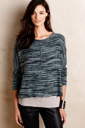 Stateside Seamed Terry Pullover Moss