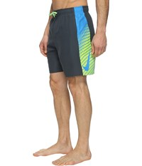 Nike Clash 7 Volley Shorts Classic Charcoal Men's Swimwear Black