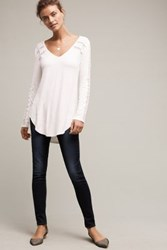 Anthropologie Jean Shop Heidi Low Rise Jeans Tinted Denim