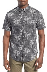 Men's Rhythm 'Magic Palm' Print Woven Shirt