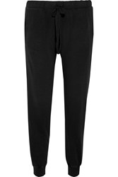 Current Elliott The Slim Vintage Cotton Sweatpants Black