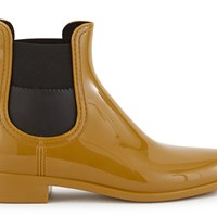 Lemon Jelly Rusted Ankle Boots Rusted Gold Black