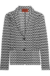 Missoni Crochet Knit Blazer