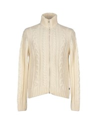Brooksfield Knitwear Cardigans Men Ivory