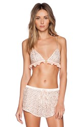 Lovers Friends All Rise Bralette Blush