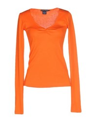 Ralph Lauren Topwear T Shirts Women Orange