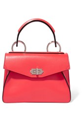 Proenza Schouler Hava Small Leather Tote Papaya