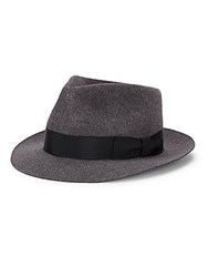 Rag And Bone Williams Wool Fedora Black