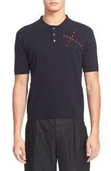 Men's J.W.Anderson Embroidered Polo