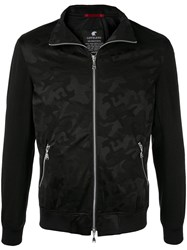 Loveless Camouflage Zipped Jacket Black