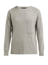 Weekend Max Mara Canapa Sweater Light Grey