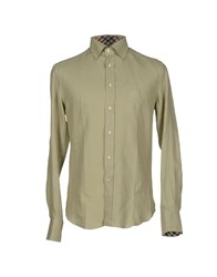 Daks London Shirts Military Green